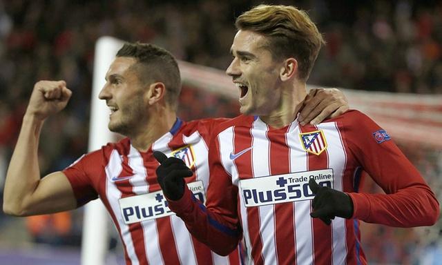 Griezmann tiếp tục tỏa sáng để Atletico vượt qua vòng bảng Champions League