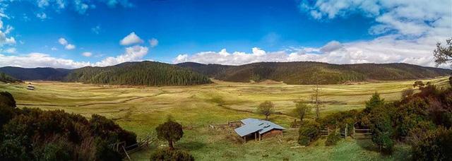 Những ngọn đồi mùa hè - Ảnh chụp bằng chế độ Panorama