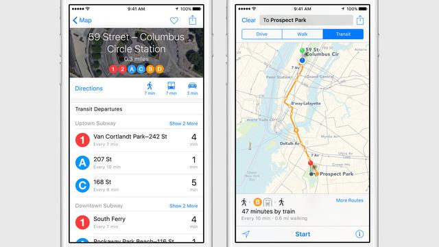 Ứng dụng bản đồ mới cho người dùng thêm nhiều lựa chọn khi di chuyển