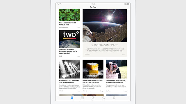 Người dùng có thể lựa chọn nội dung đọc theo chủ đề hoặc theo sở thích