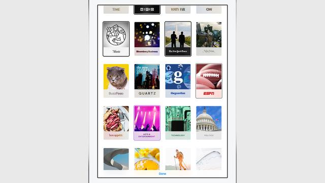 Ứng dụng giúp Apple trở thành đối thủ cạnh tranh với Flipboard, Facebook Instant Article, Google Chrome Tab