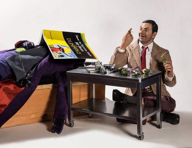 Mr. Bean khám phá những vũ khí của Joker