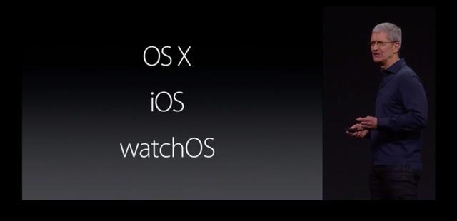 Apple mang tới sự kiện WWDC năm nay 3 nền tảng mới