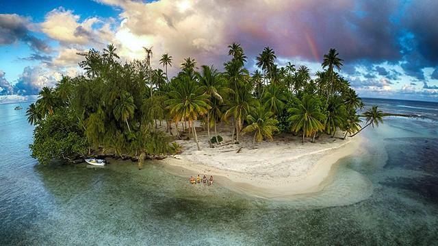 Một hòn đảo tại Tahaa, Polynesia