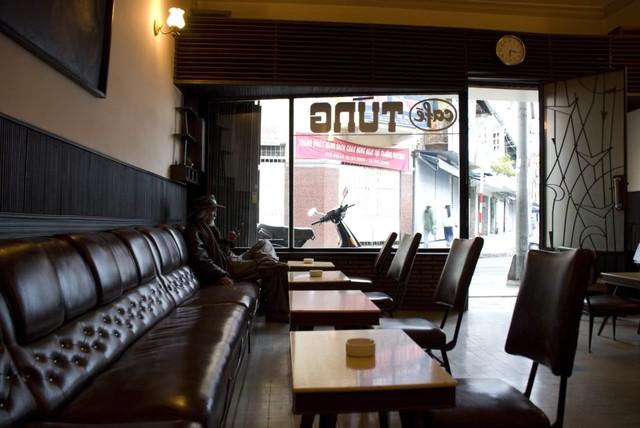 Quán Cafe Tùng nổi tiếng của Đà Lạt. (Ảnh: dulichbui.org)