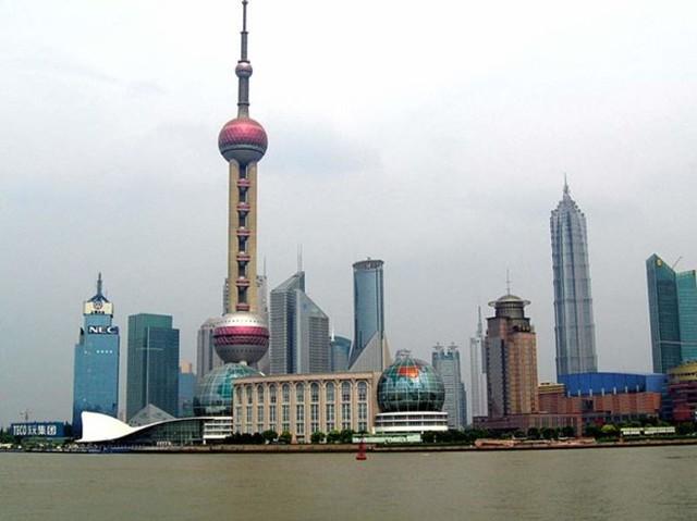 Tháp Minh châu phương Đông, Thượng Hải, Trung Quốc cao 468m, khánh thành năm 1994 - Ảnh: china-tour.cn.