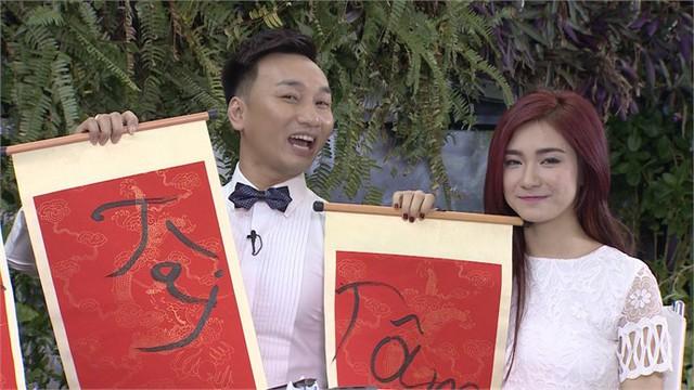 Diễn viên Thành Trung và Quán quân Học viện ngôi sao Hòa Minzy