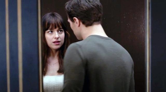 Dakota Johnson và Jamie Dornan vào vai chính trong phim 50 sắc thái.