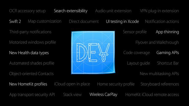 Các nhà phát triển có nhiều cơ hội khai thác iOS 9