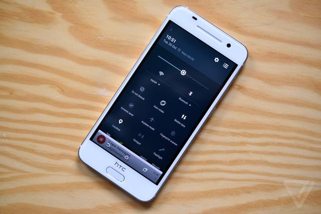 Cài đặt nhanh trên HTC One A9