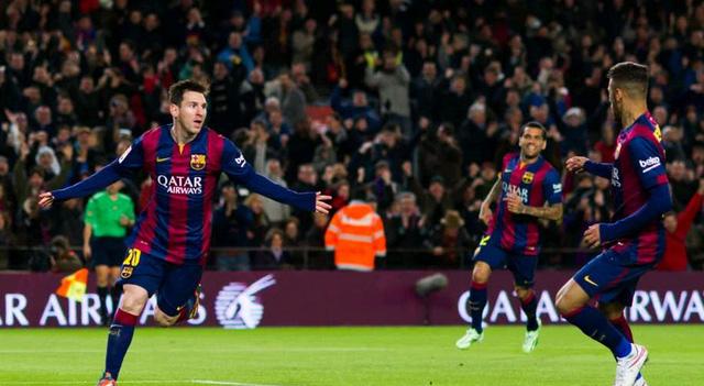 Barcelona 5-1 Espanyol: Messi lập hat-trick thứ hai ở mùa này và Barca lại đại thắng.