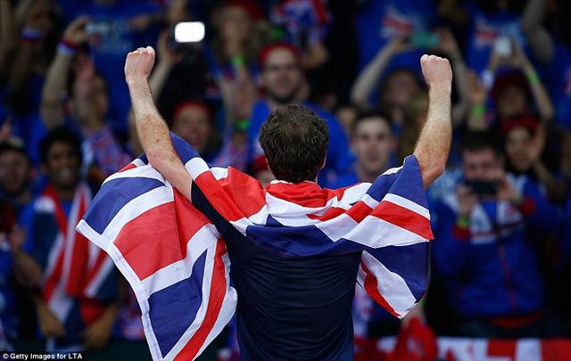 Andy Murray - Niềm tự hào của quần vợt Vương quốc Anh. Ảnh: Getty.