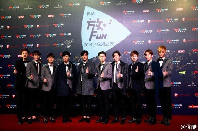 Các anh chàng EXO bảnh bao khi xuất hiện tại lễ trao giải