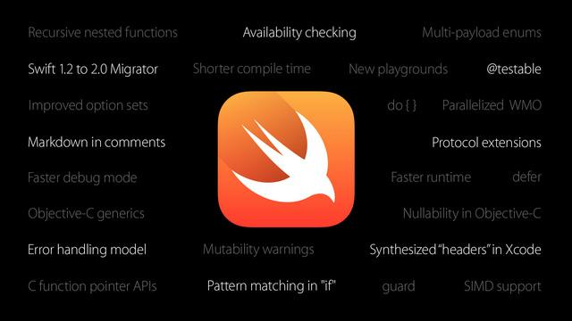 Swift 2.0 trở thàng mã nguồn mở