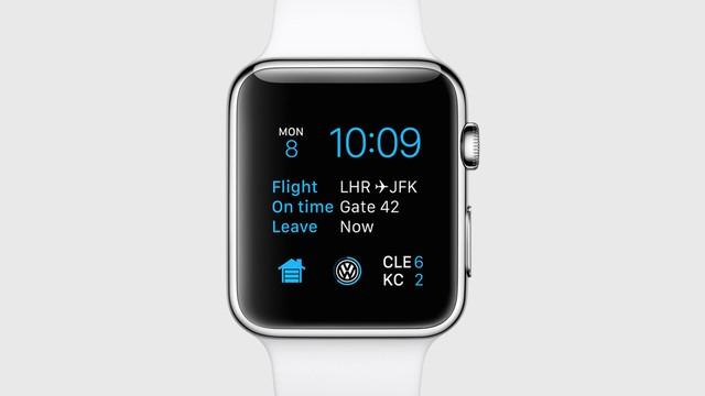 Hiển thị trên Apple Watch