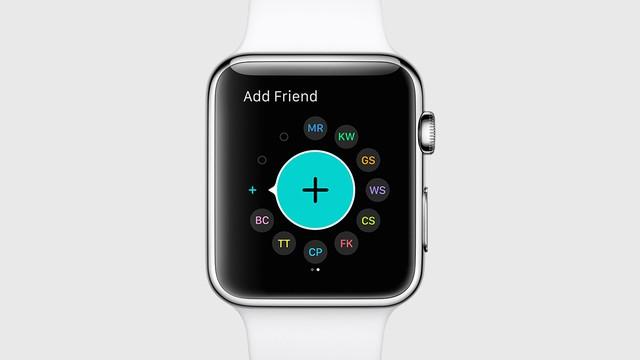 Thêm danh bạ trên Apple WAtch