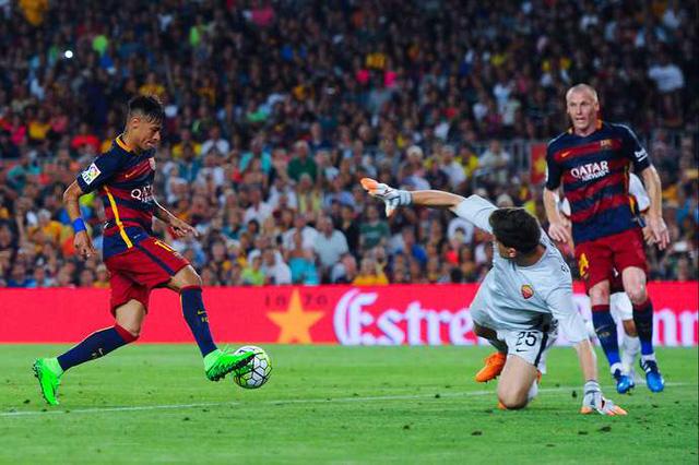 Barcelona là đội bóng sở hữu hàng công khủng nhất thế giới...