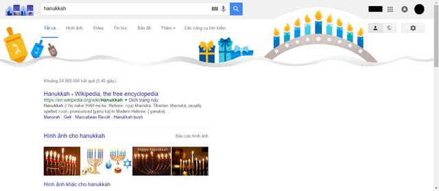"""Hình nền trên trang kết quả tìm kiếm cụm từ """"Hanukkah"""""""