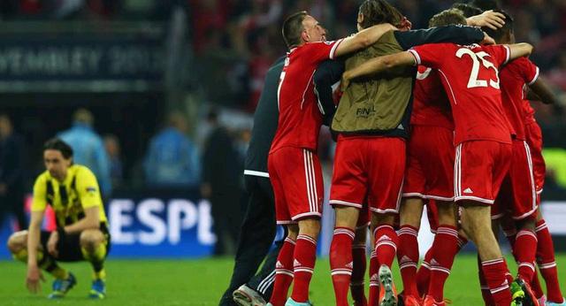 Bayern Munich mùa giải 2012/13: Vô địch Bundesliga, Cúp QG, Champions League