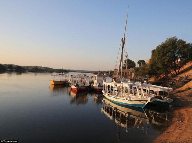 Tour du lịch khám phá sông Nile được coi là khá an toàn trong thời điểm hiện tại