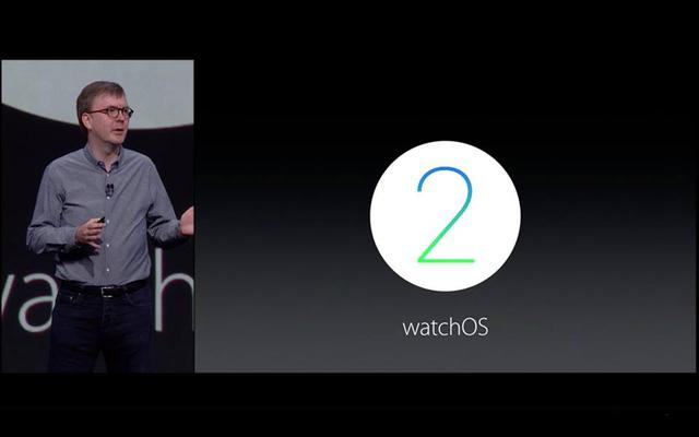 Apple trình làng phien bản thứ hai của hệ điều hành watchOS