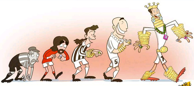 Người ăn không hết, kẻ lần không ra. Ronaldo vẫn là cỗ máy kiếm tiền số 1 trong thế giới bóng đá.