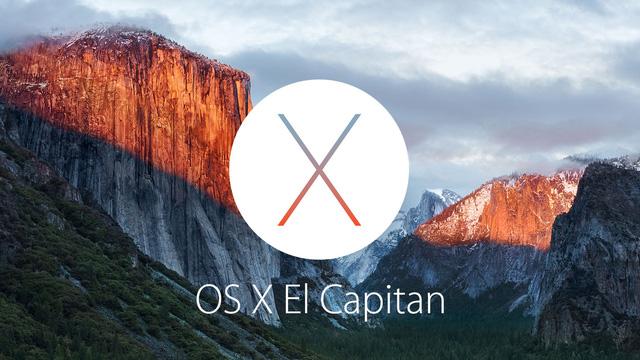 Hệ điều hành OS X El Capitan dành cho dòng máy Mac