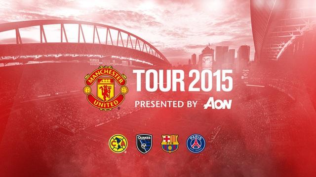 International Champions Cup có sự góp mặt của 4 CLB: Man Utd, Club America, PSG và Barcelona