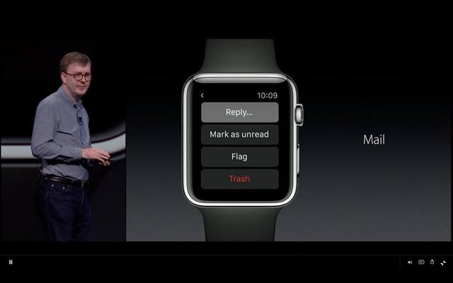Nhận và gửi mail qua Apple Watch