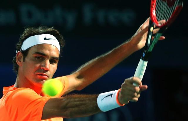 Federer có chiến thắng dễ dàng ở vòng bán kết.