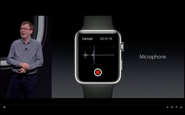 Ghi âm trên Apple Watch
