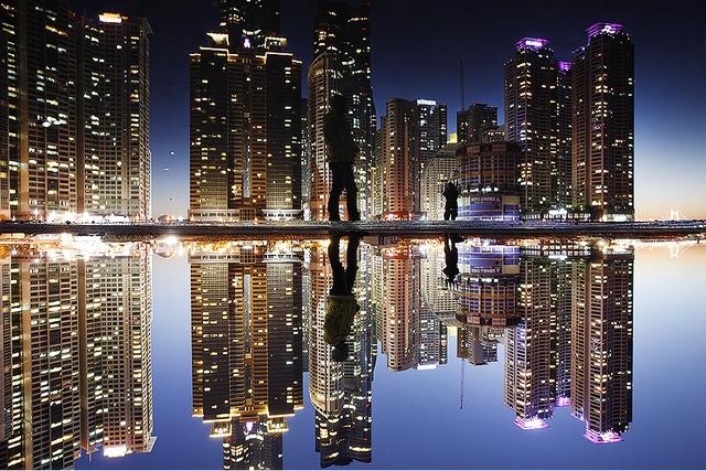 """""""Hòn đảo ngoài hành tinh"""" Dongbaekseom, Busan, Hàn Quốc."""