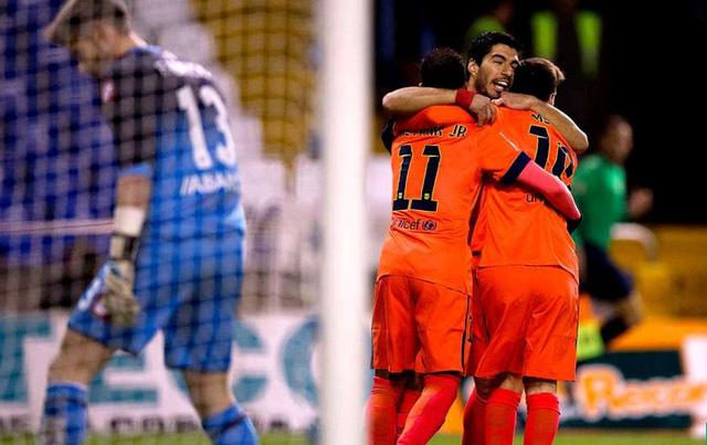 Derpotivo 0-4 Barcelona: Trận thắng ghi dấu ấn của Messi với cú hat-trick tiếp theo trong mùa giải này.