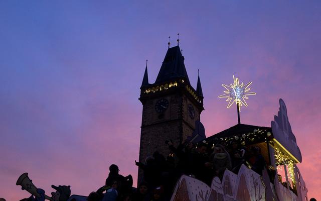 Không khí Giáng sinh ở Prague, CH Czech