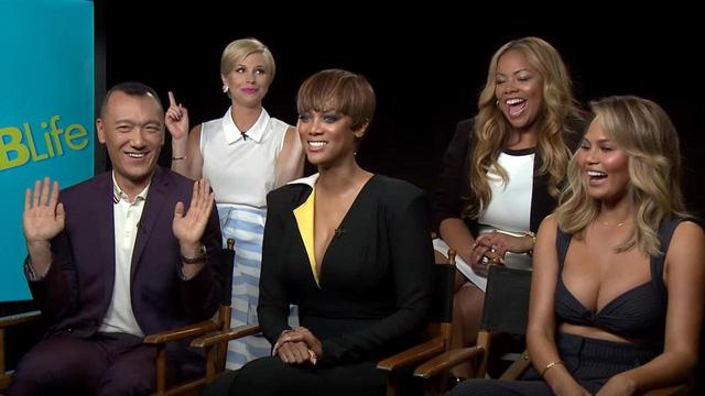 Tyra Banks trong talkshow FABLife.