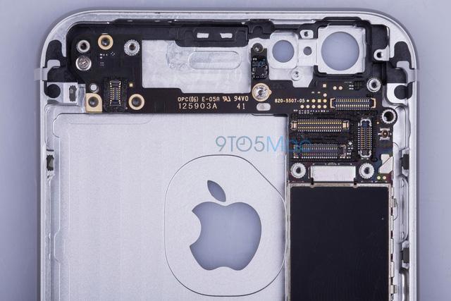 Hình ảnh bên trong iPhone 6S do 9to5mac đăng tải