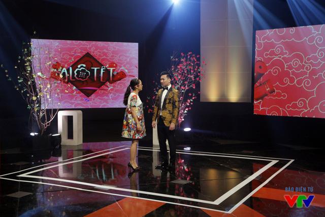 Thành Trung và Ốc Thanh Vân là một trong những bộ đôi MC mới của Alo Tết 2016