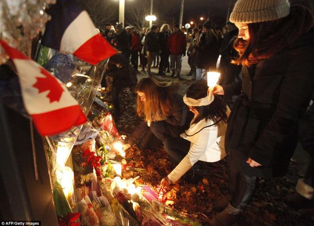 Lễ tưởng niệm tại Ottawa, Cananda,
