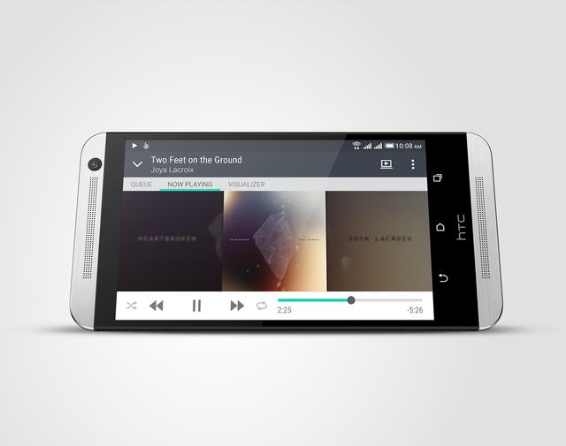 HTC One E9 dual sim sở hữu màn hình 5.5 inches Full HD 1080p
