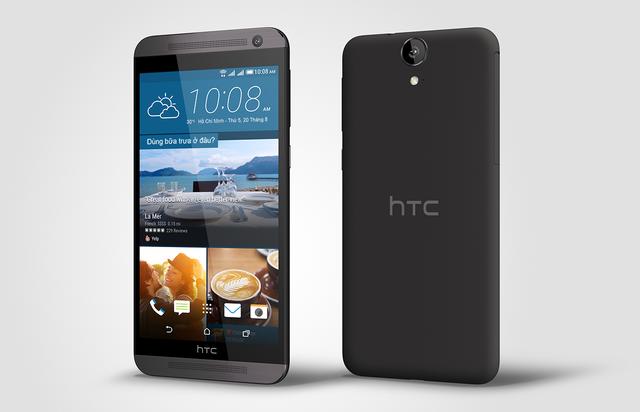 HTC One E9 dual sim có giá bán lẻ đề xuất 8.690.000đ