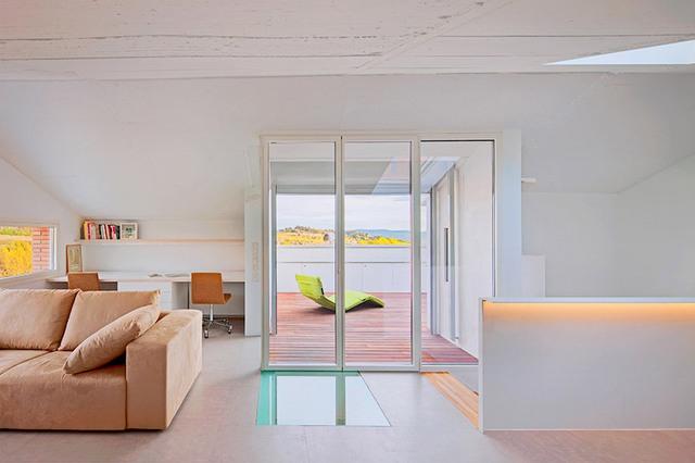 Ngôi nhà gây ấn tượng với không gian thoáng đãng, rộng rãi