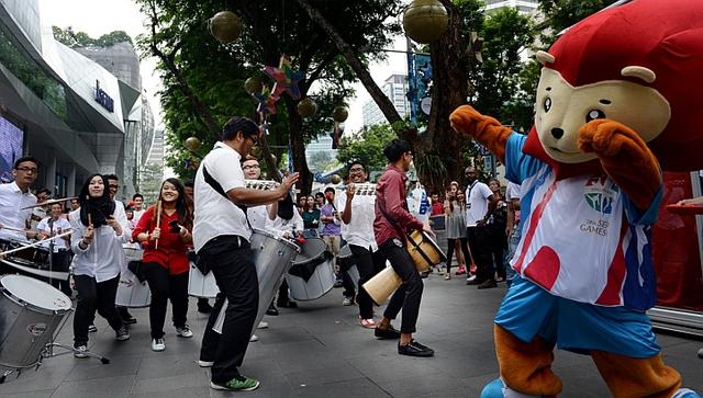 SEA Games 28 là sự kiện rất được người dân Singapore chờ đón.