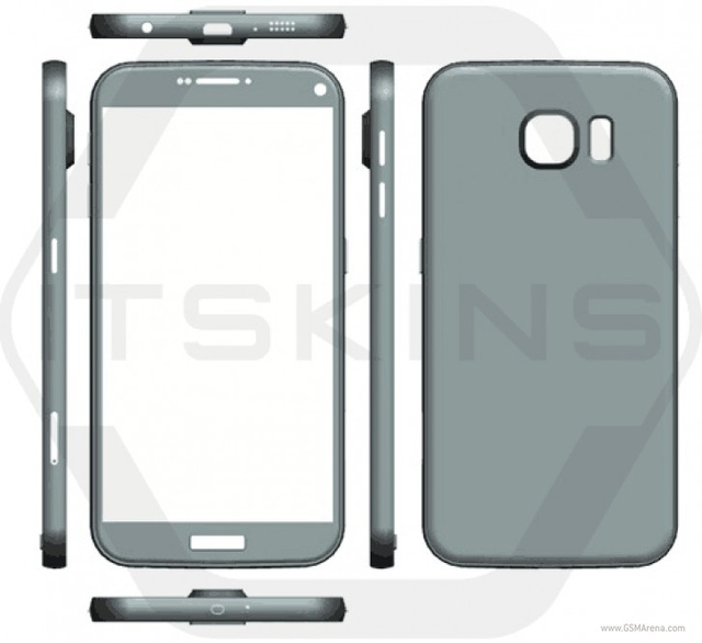 Hình ảnh rò rỉ phần khung của Galaxy S7