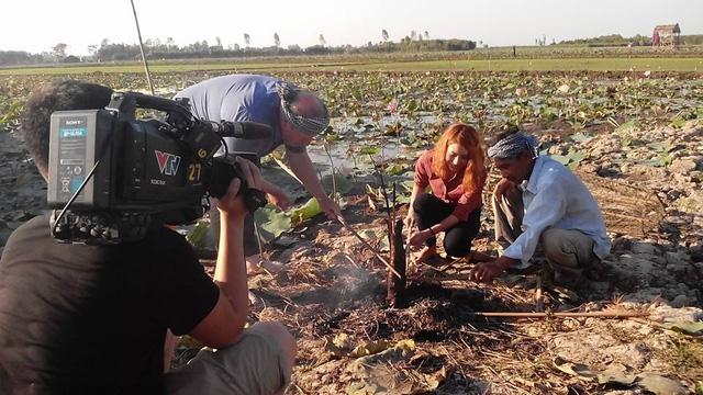 Hình ảnh trong chương trình Ăn Tết Việt