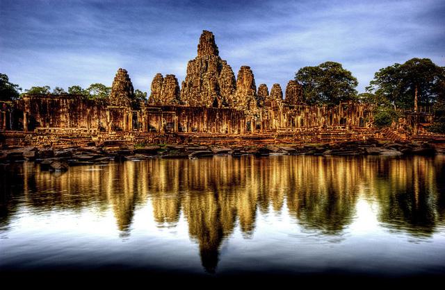 Angkor Wat, Siem Reap, Campuchia