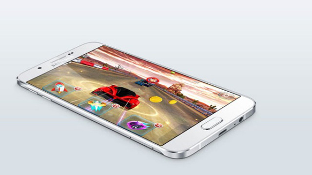 Samsung Galaxy A8 được cài sẵn hệ điều hành Android 5.1 Lollipop