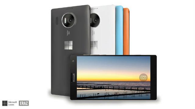 Mẫu ý tưởng chiếc Lumia 960 XL