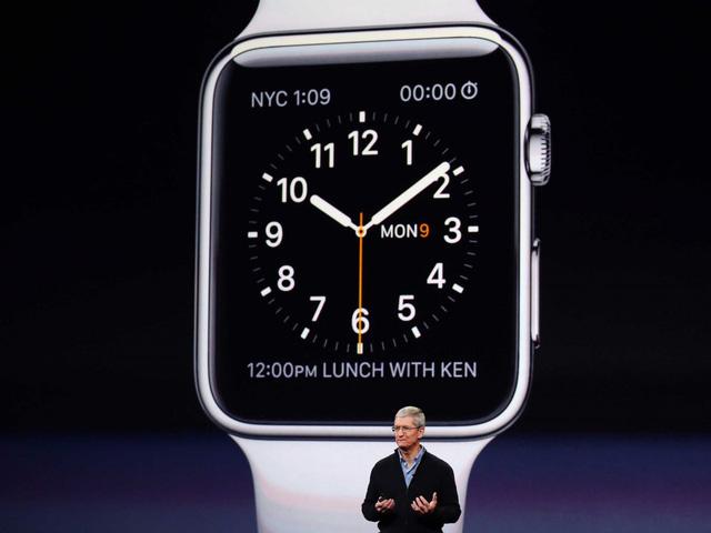 Apple Watch luôn hiển thị 10:09 trong những lần xuất hiện