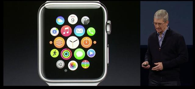 Tim Cook giới thiệu chiếc đồng hồ thông minh Apple Watch