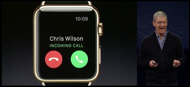 Thiết bị thậm chí cho phép người dùng nghe và trả lời cuộc gọi đến